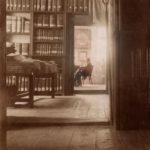 Pomieszczenia Archiwum Aktów Dawnych Miasta Krakowa, wtle widoczna czytelnia, fot.nieznany, b.d. (ANK, Zbiór fotograficzny, sygn. A-IV-928)