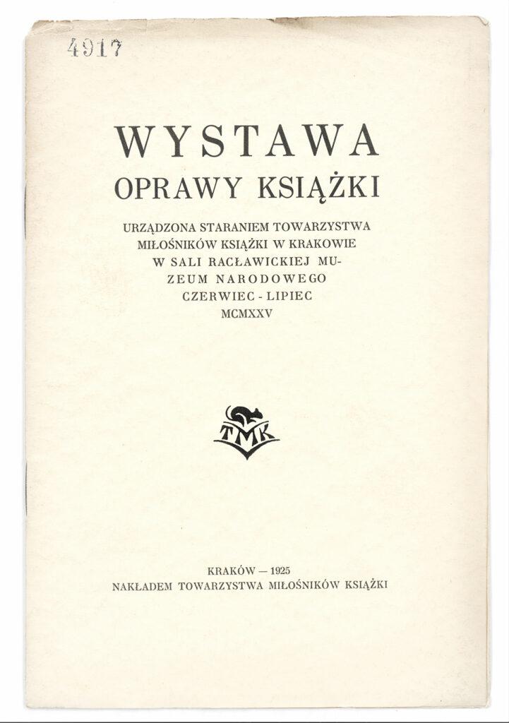 Okładka katalogu