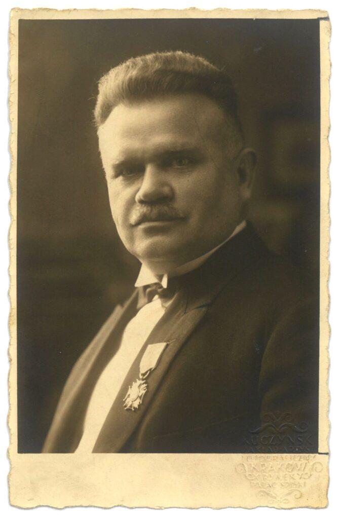 Andrzej Różycki, starszy Cechu Masarzy wKrakowie